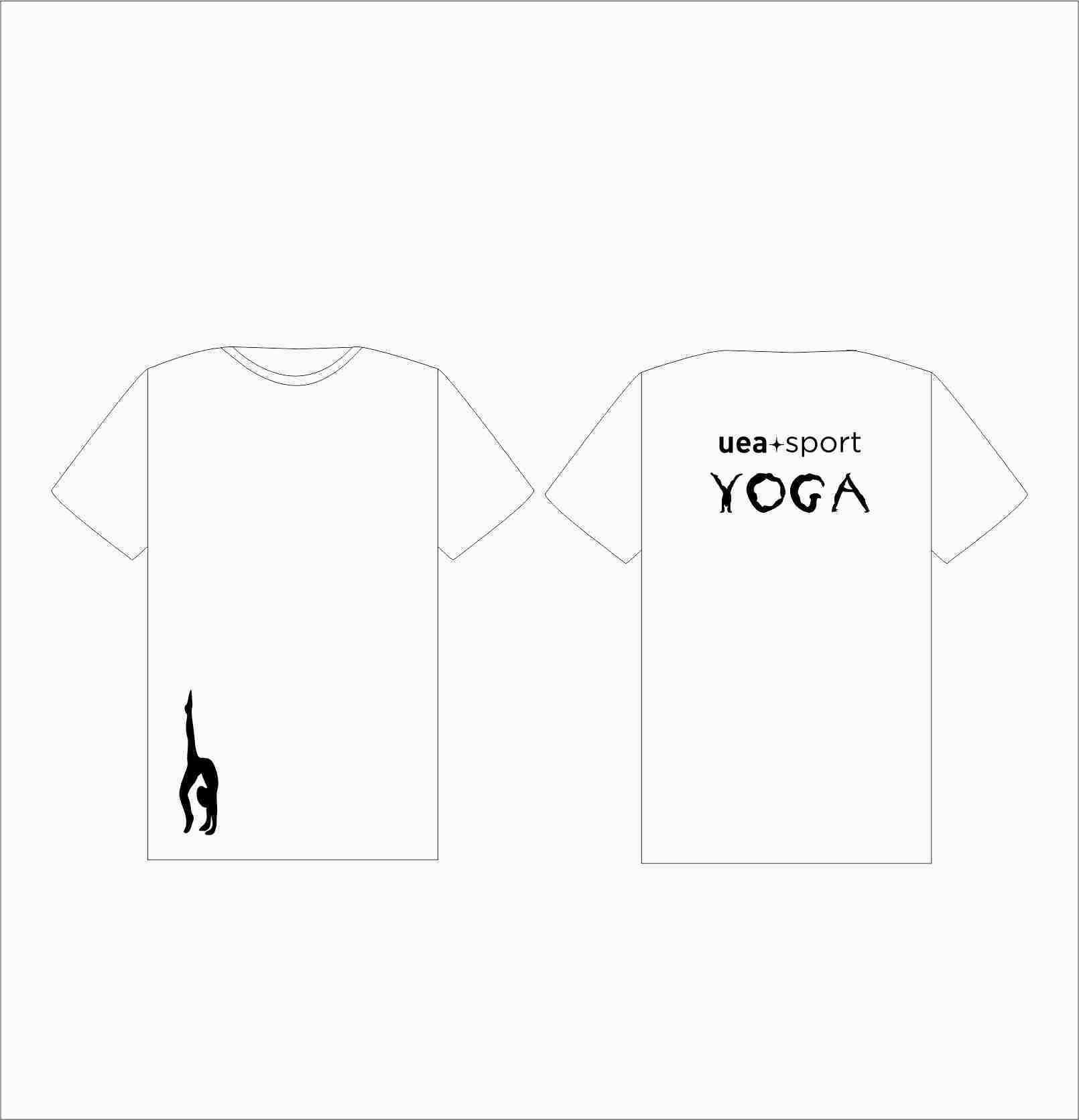 Uea Yoga Mens T-shirt