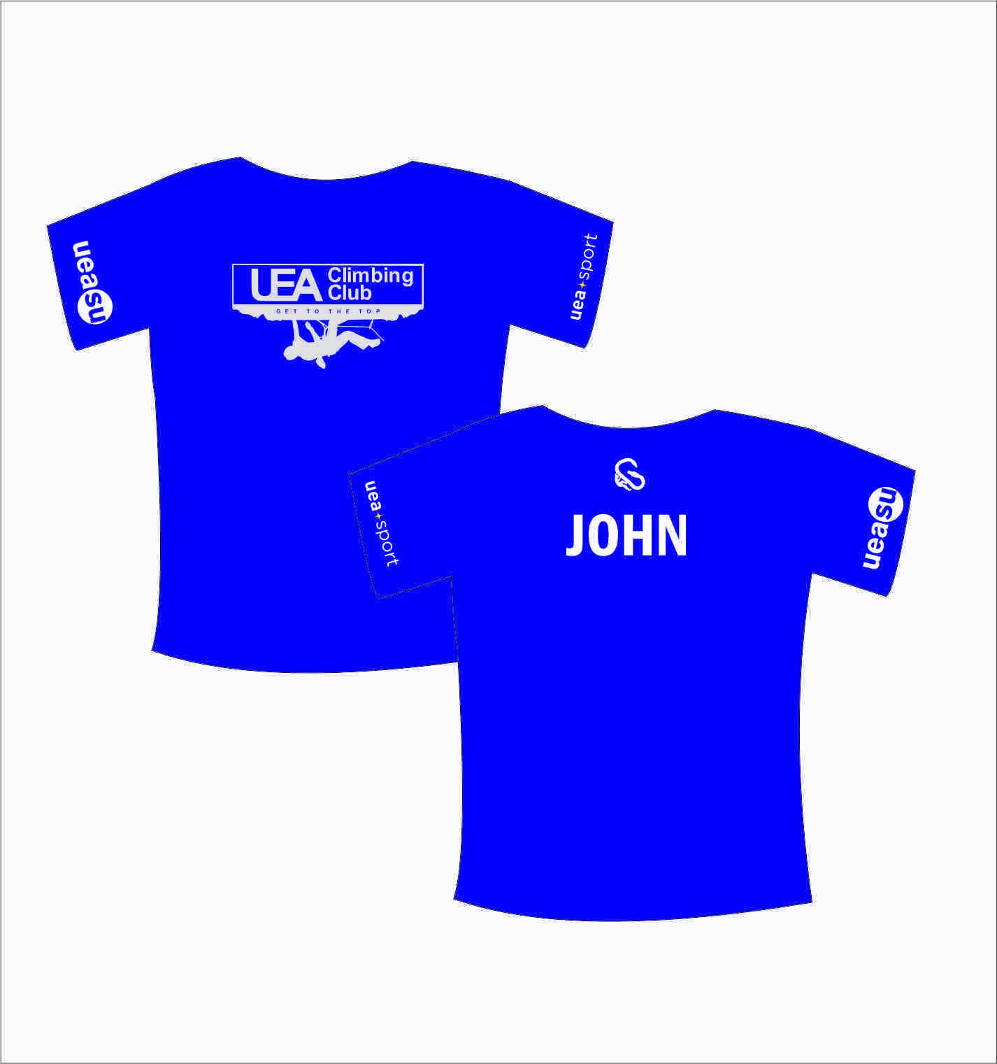 Uea - Climbing T-shirt