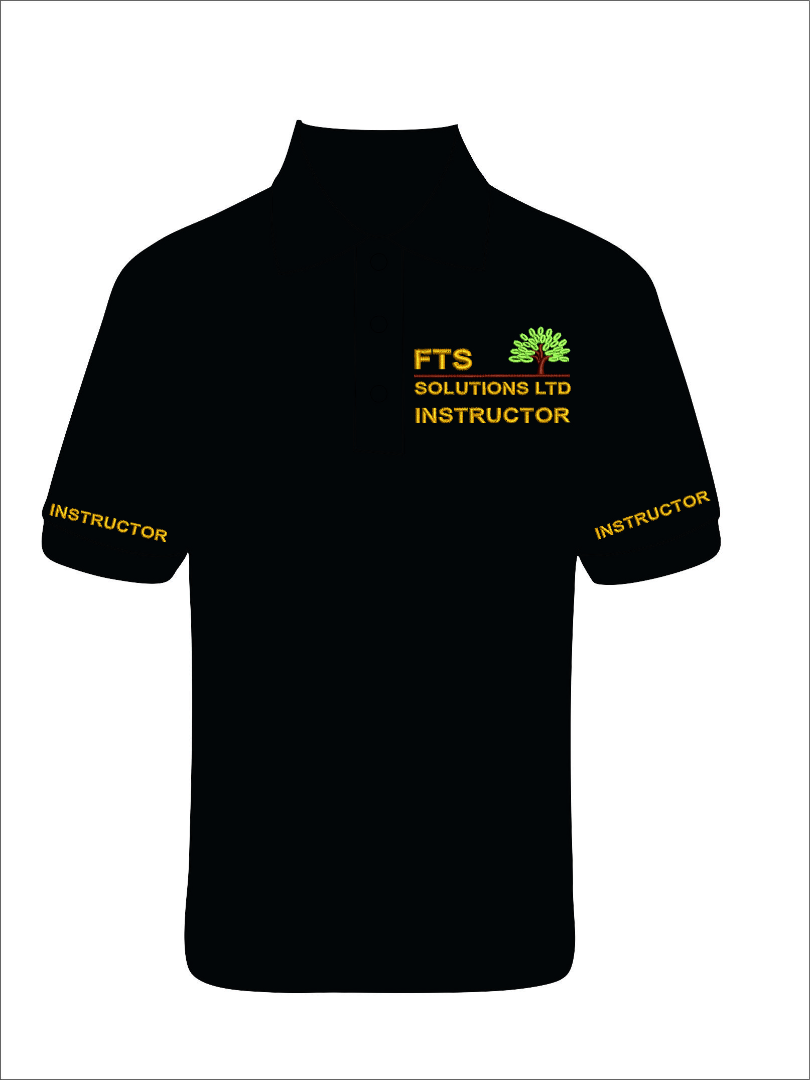 Ladies Fit Instructor Polo Shirt