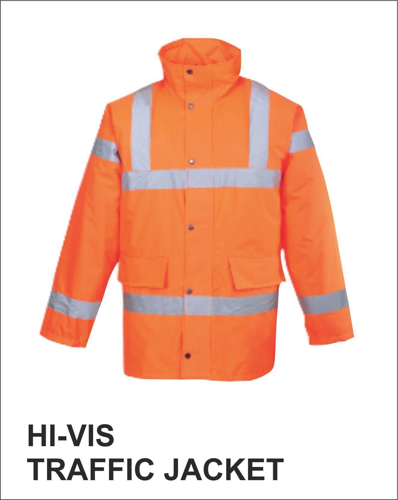 Traffic Jacket Orange Front
