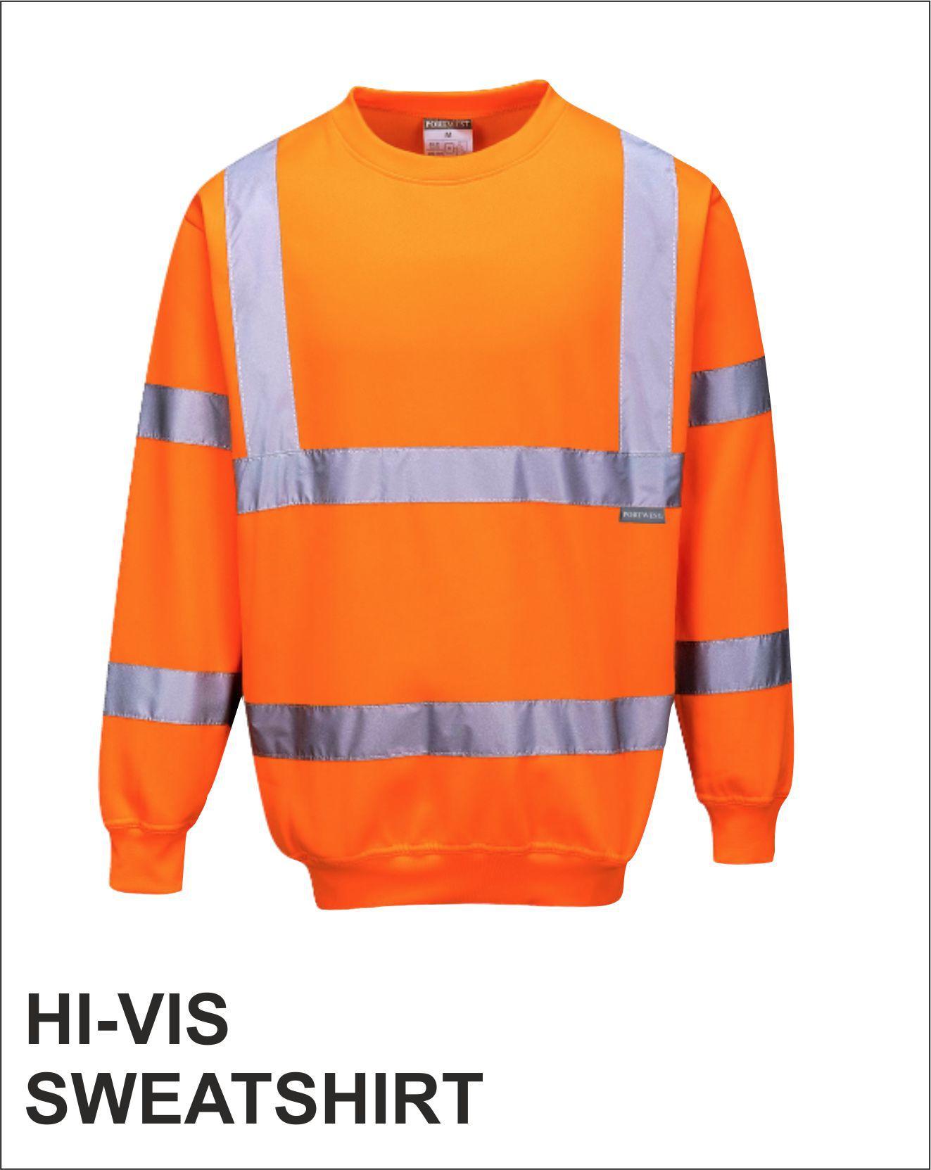 Sweatshirt Orange Front