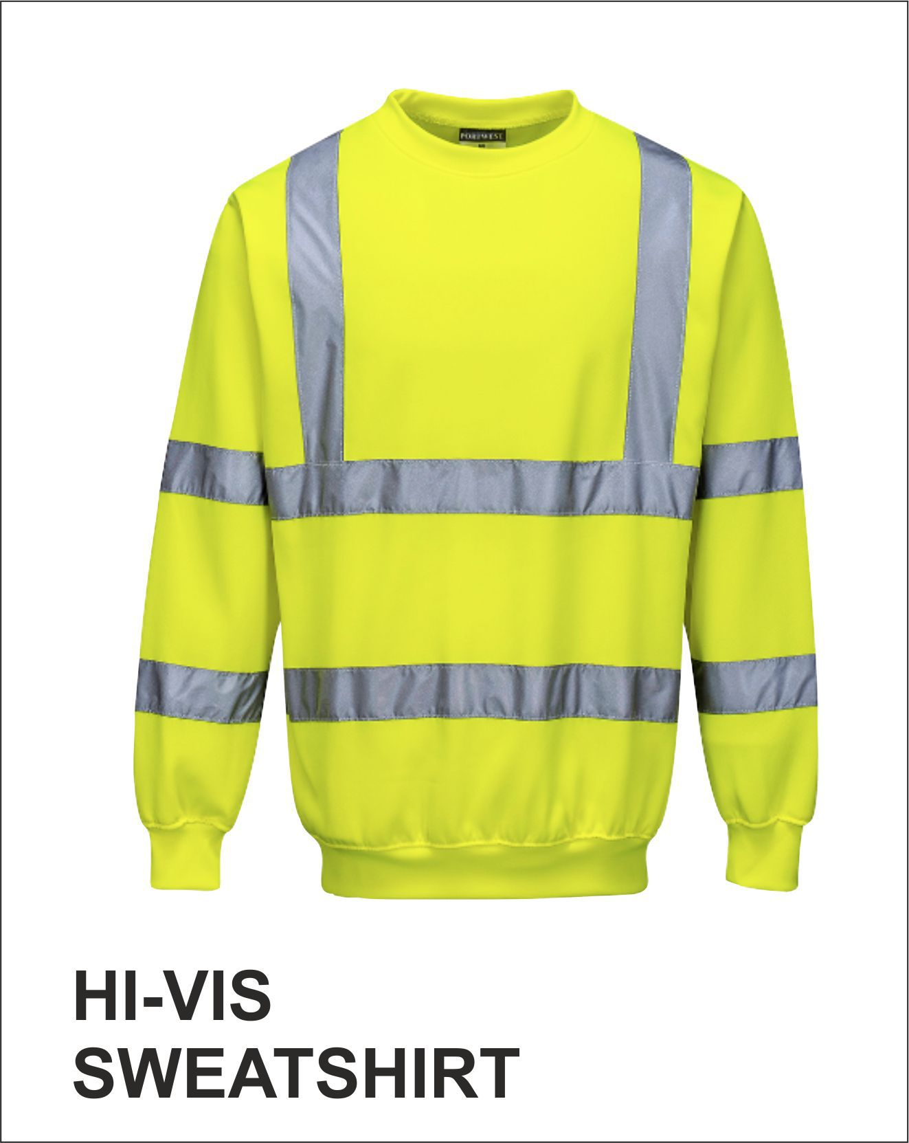 Sweatshirt Yellow Front