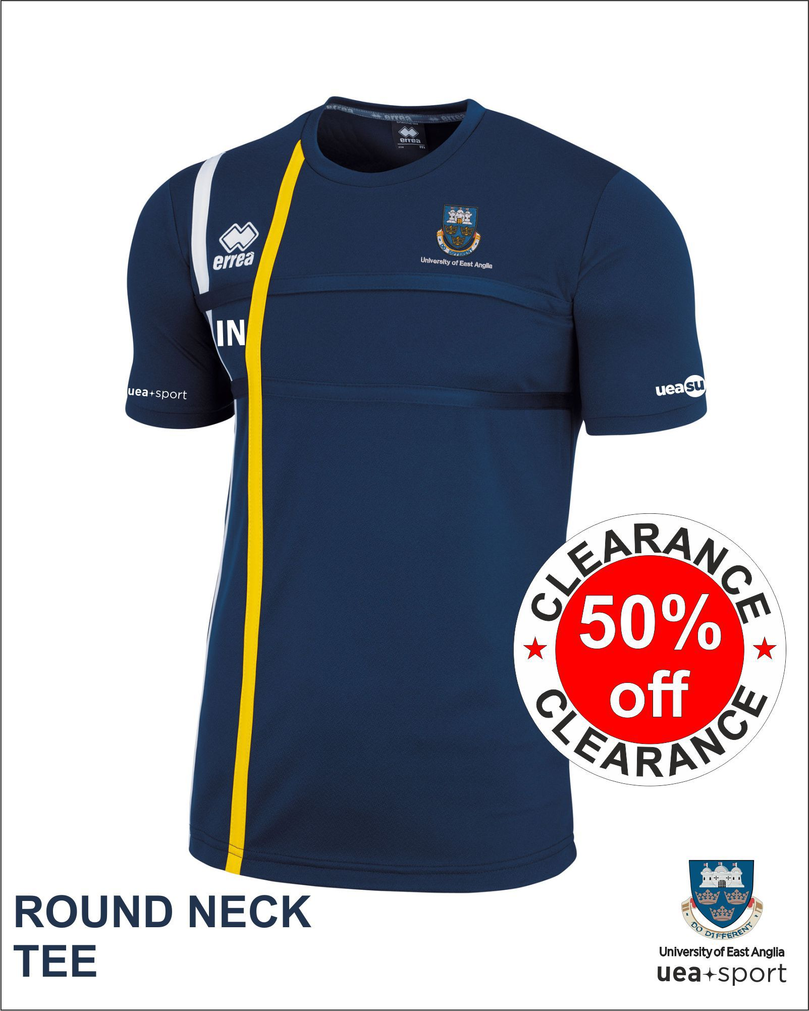 Clearance Round Neck Tee