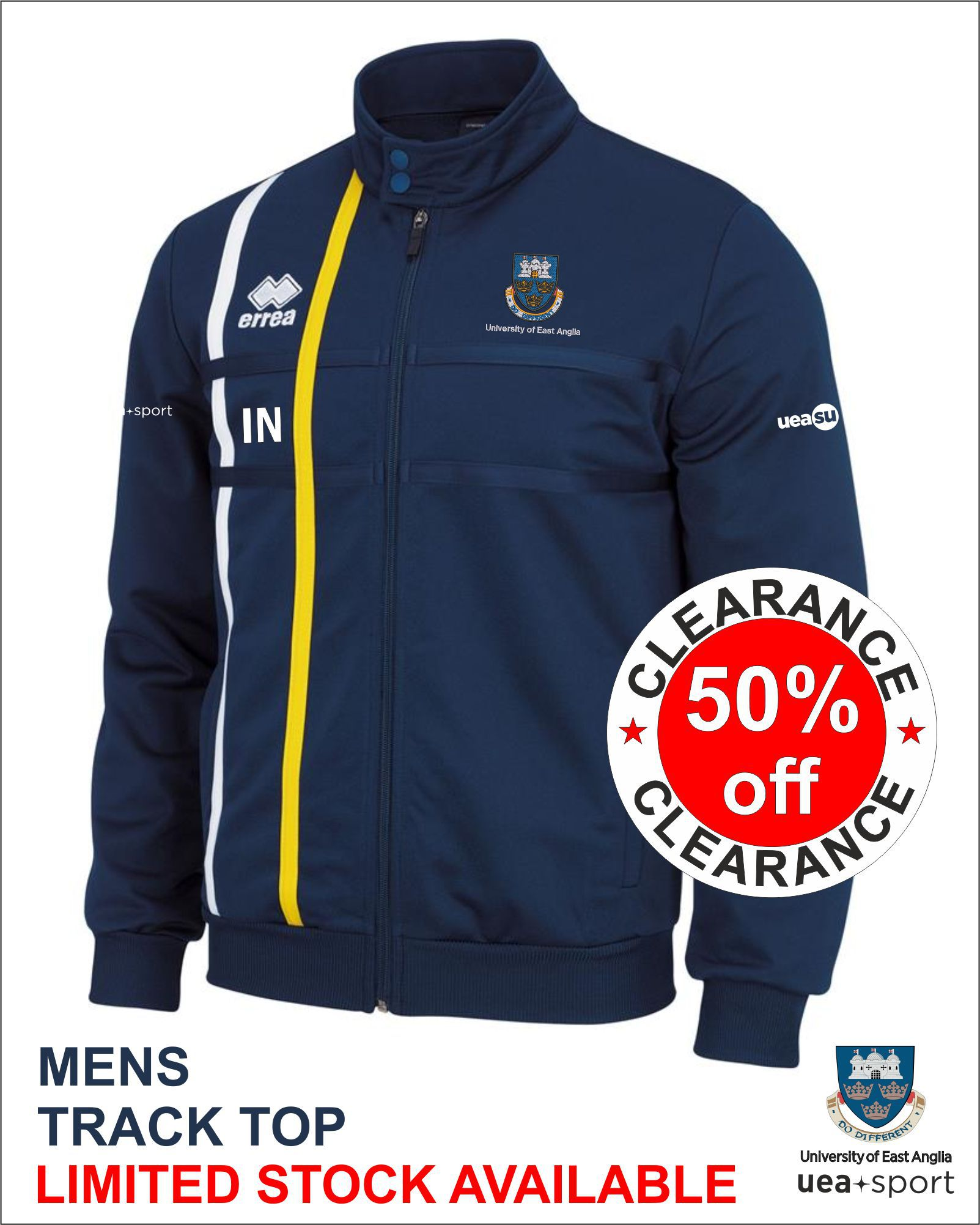 Clearance Mens Track Top