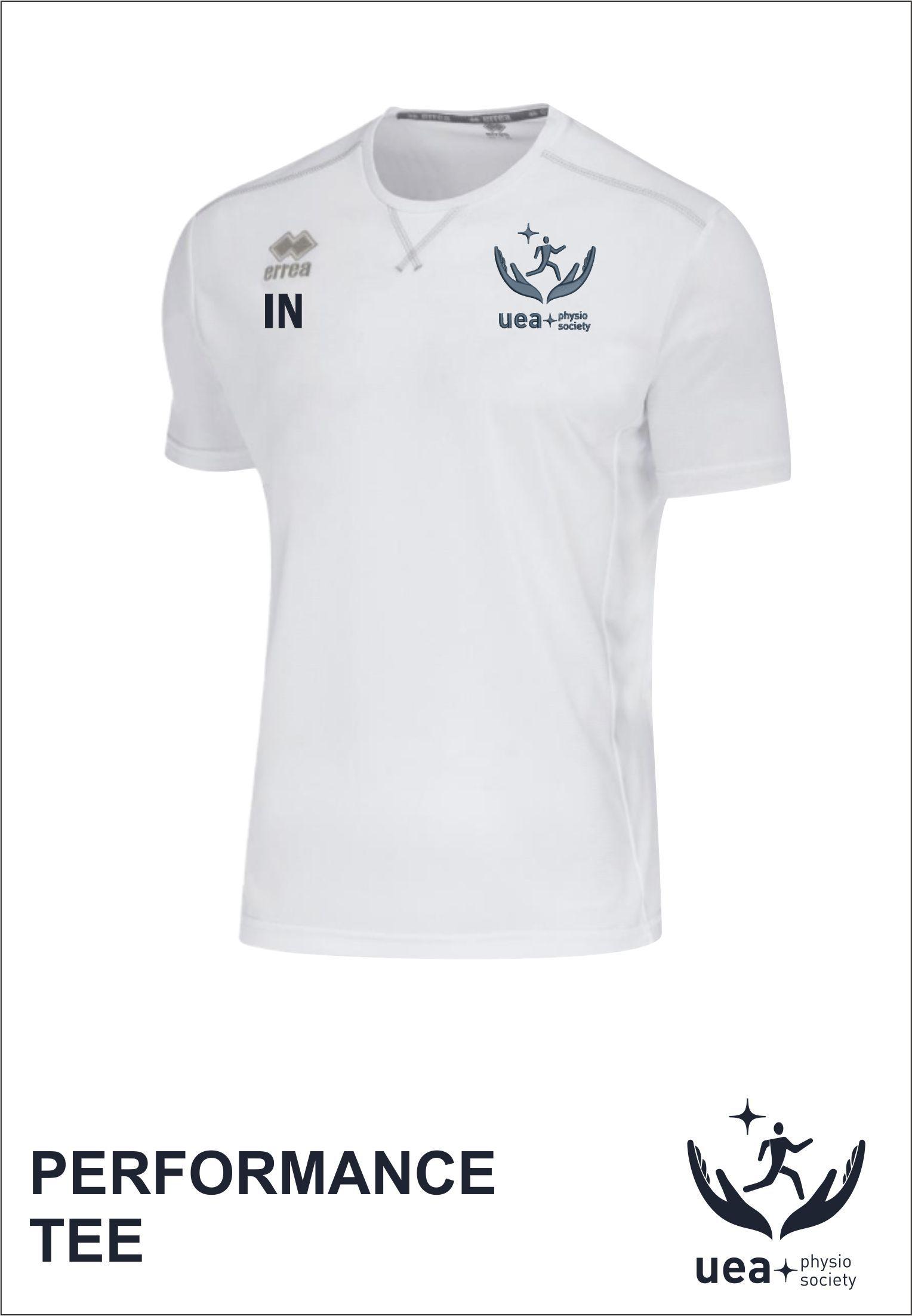 Everton Tee Front White