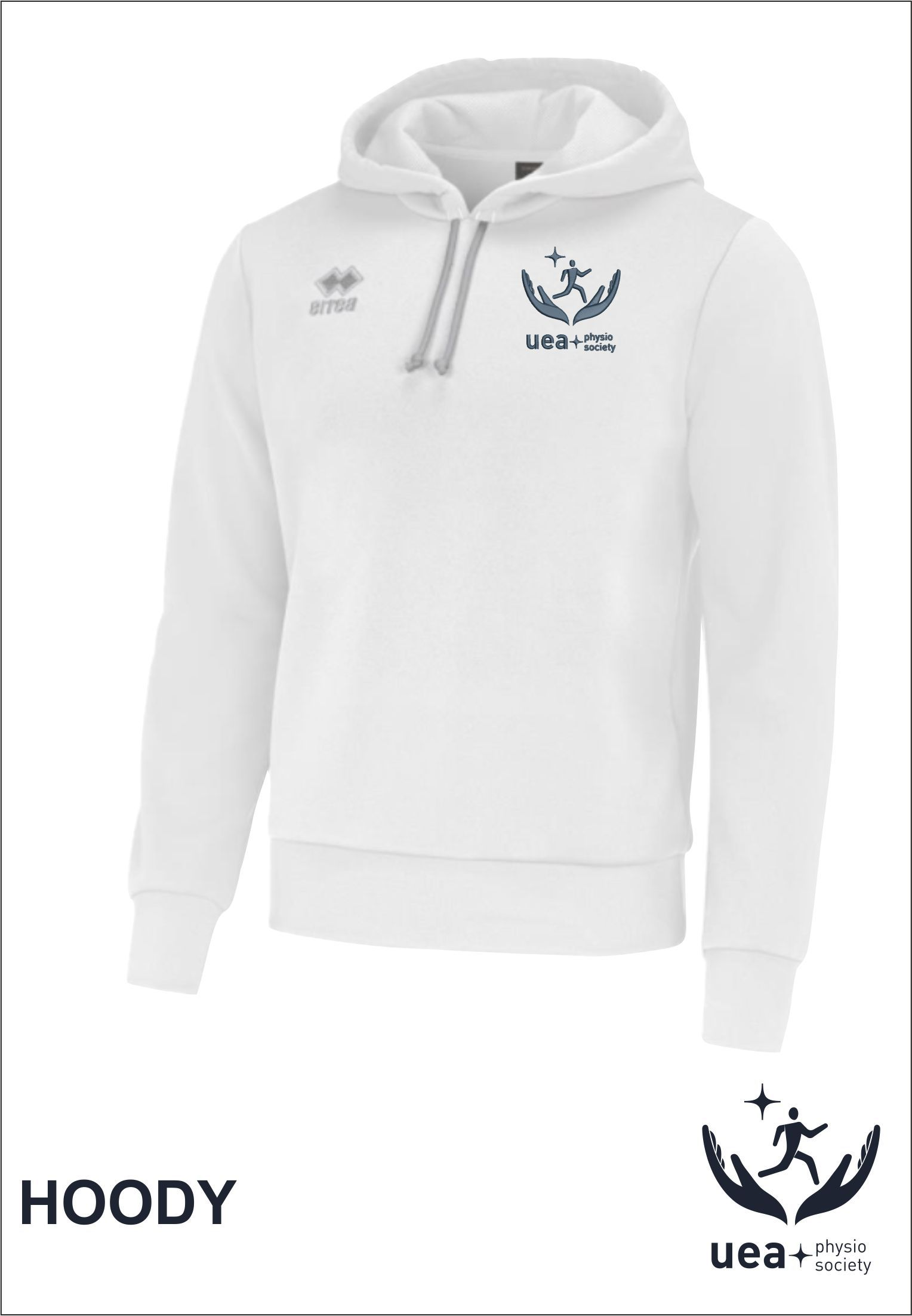 Hoody Front White