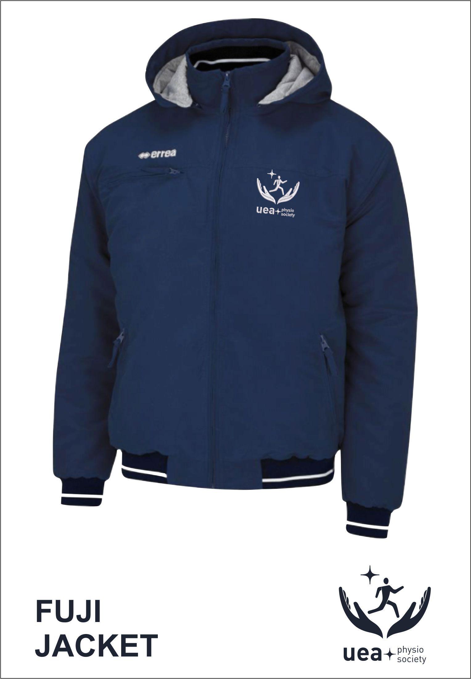 Fuji Jacket Front Navy