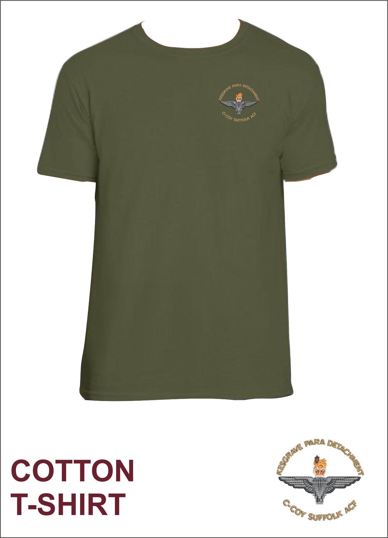 Cotton Tee Military Green