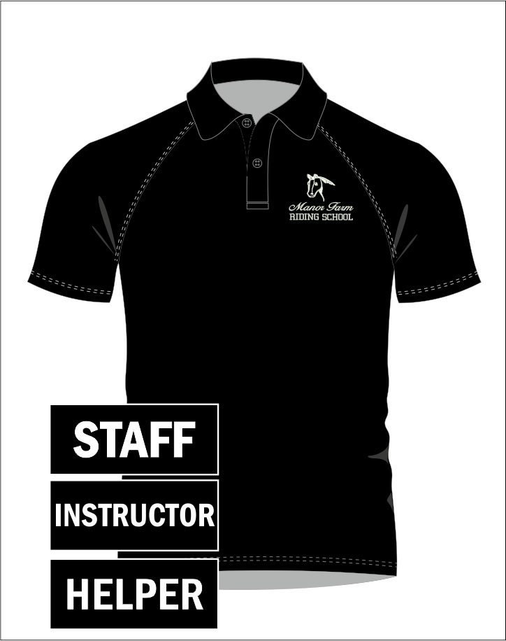 Staff - Helper - Instructor Polo Shirt Straight Fit