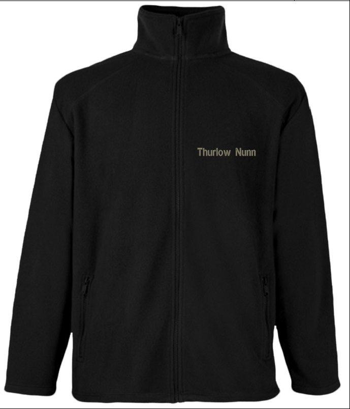 Black 601 Fleece - Thurlow Nunn