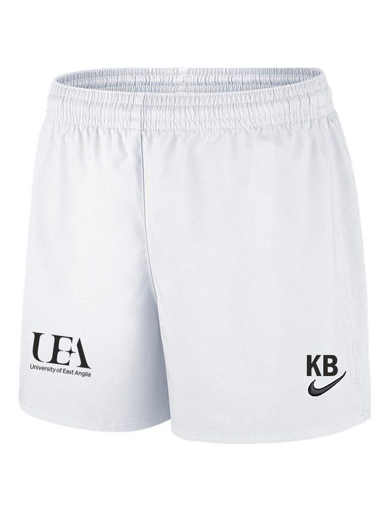 Uea Wfc Nike White Woven Shorts
