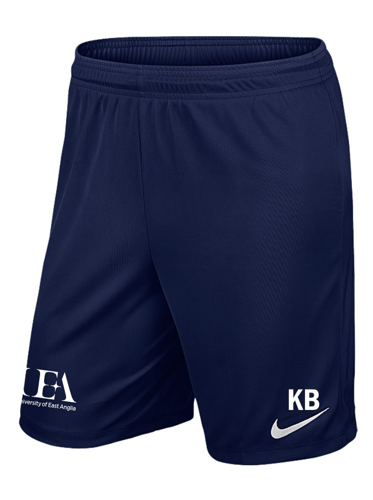 Uea Wfc Nike Navy Park Shorts