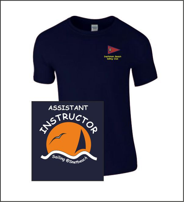 Snettisham Beach Sailing Club Assistant T Shirt