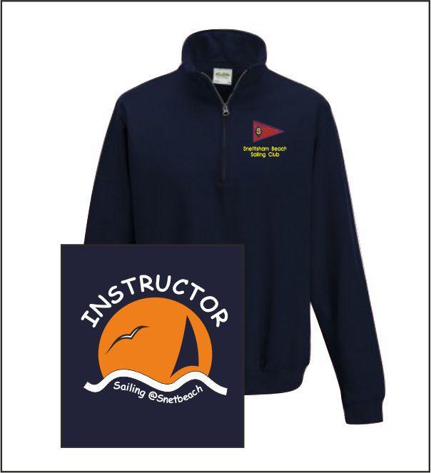 Snettisham Beach Sailing Club Instructor Q Zip