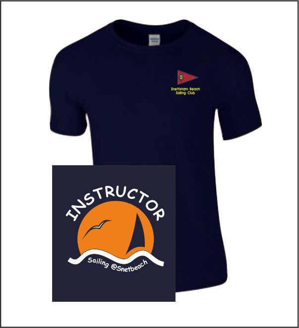 Snettisham Beach Sailing Club Instructor Tee