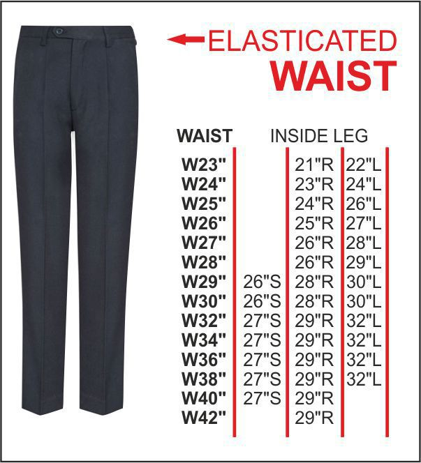 Cns Elasticated Back Trouser