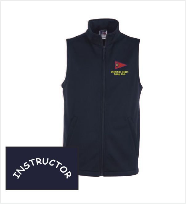 Snettisham Beach Sailing Club Assistant Softshell Vest