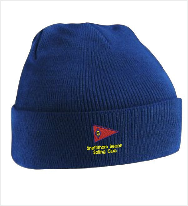 Snettisham Beach Sailing Club Navy Beanie