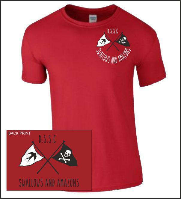 Bssc Swallows T Shirt Red