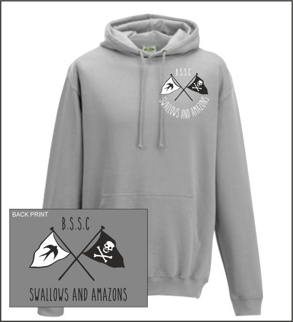 Bssc Swallows Hoodie Grey