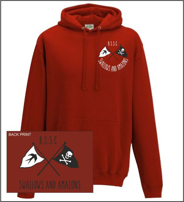 Bssc Swallows Hoodie Red