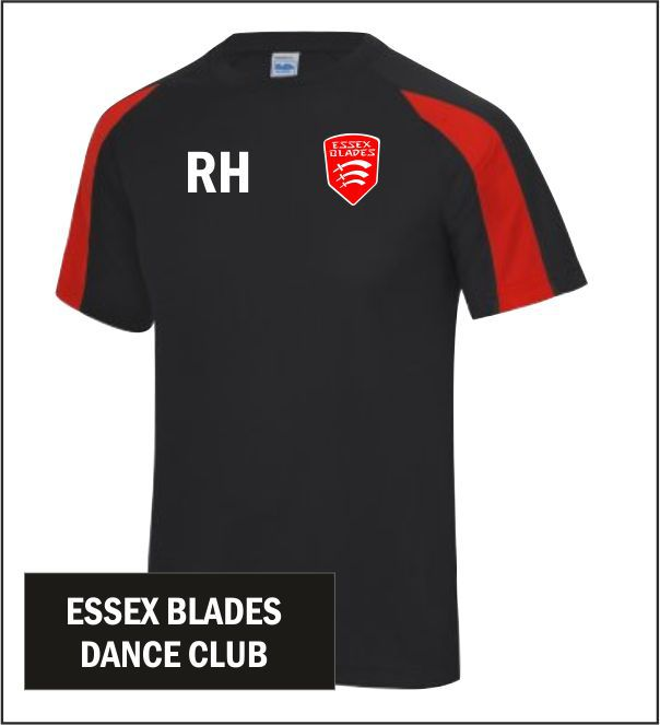Essex Blades Dance Club T Shirt