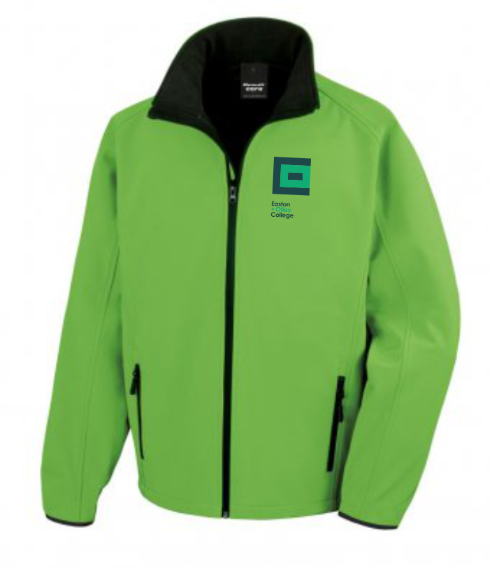 Easton College Animal Studies Softshell Mens Jacket
