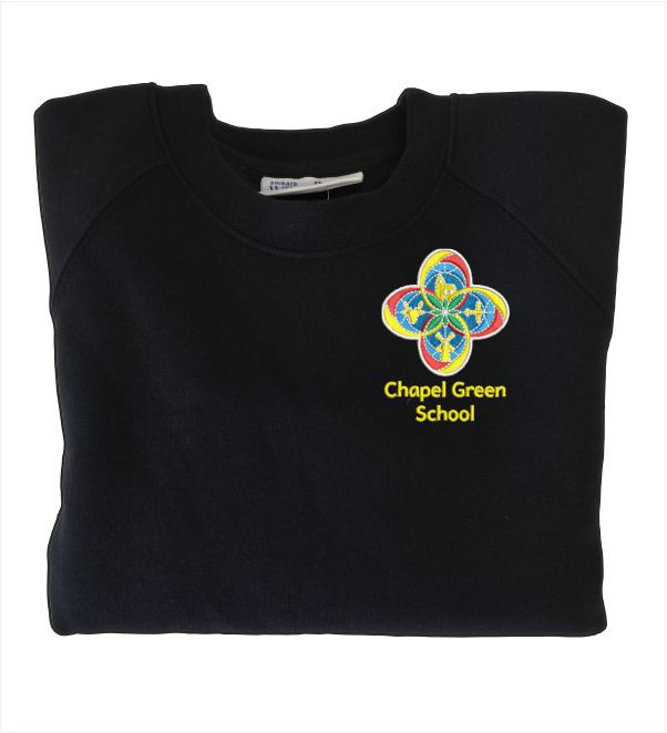 Chapel Green School Black Sweatshirt