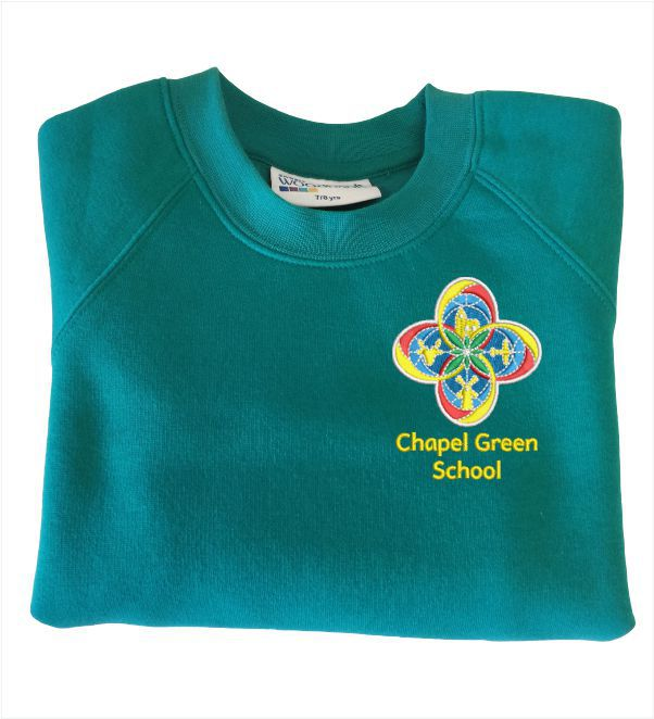 Chapel Green School Jade Sweatshirt