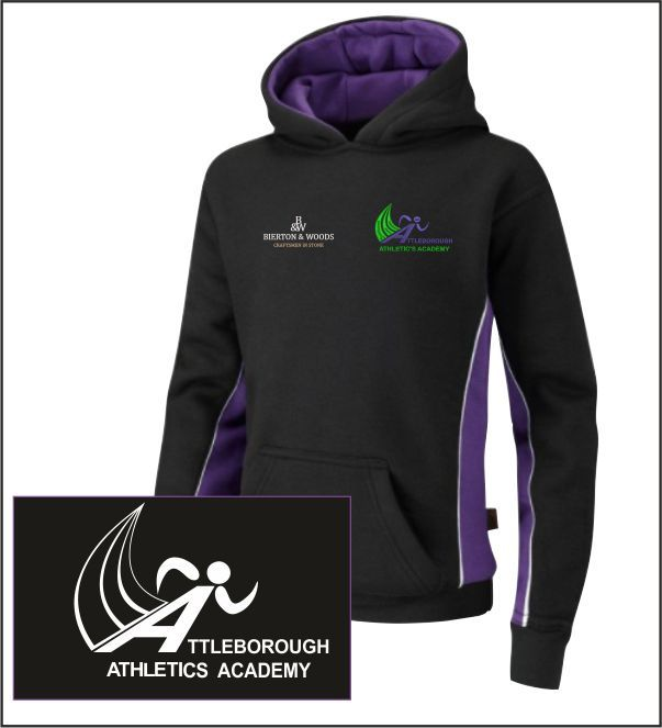 Attleborough Athletics Academy Club Hoody