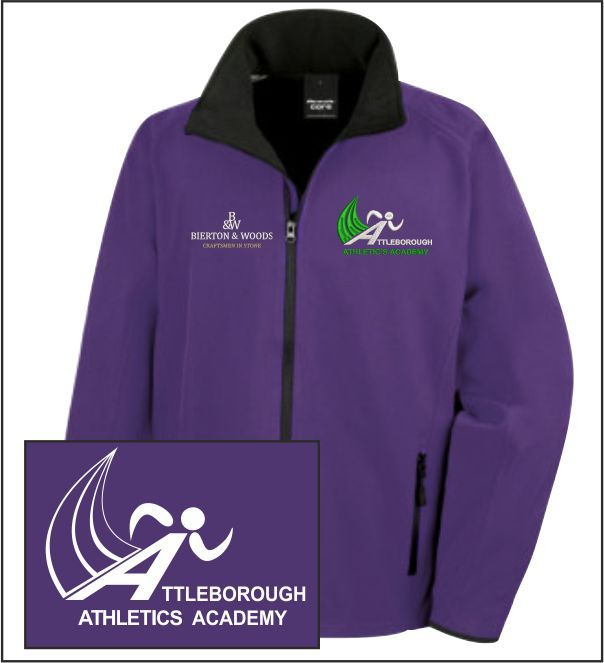 Attleborough Athletics Academy Club Softshell