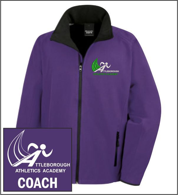 Attleborough Athletics Academy Coach Softshell