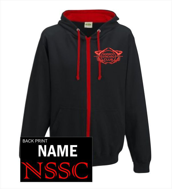Norwich Syncro Swim Club Zip Hoody
