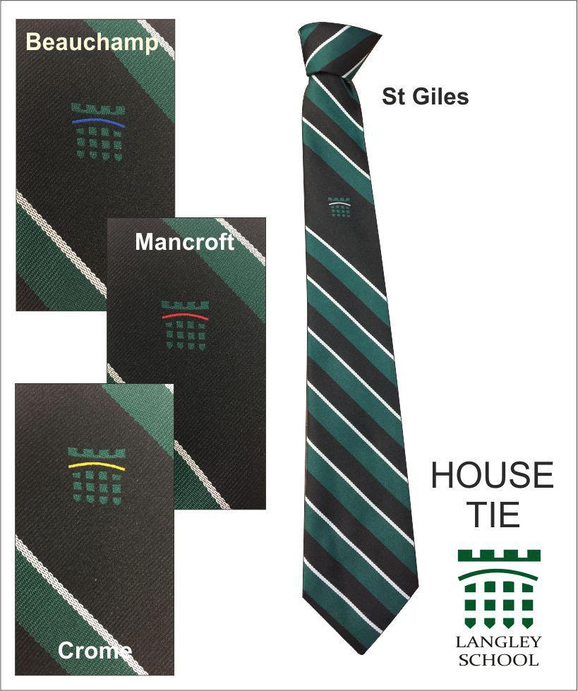 Langley Uniform House Tie