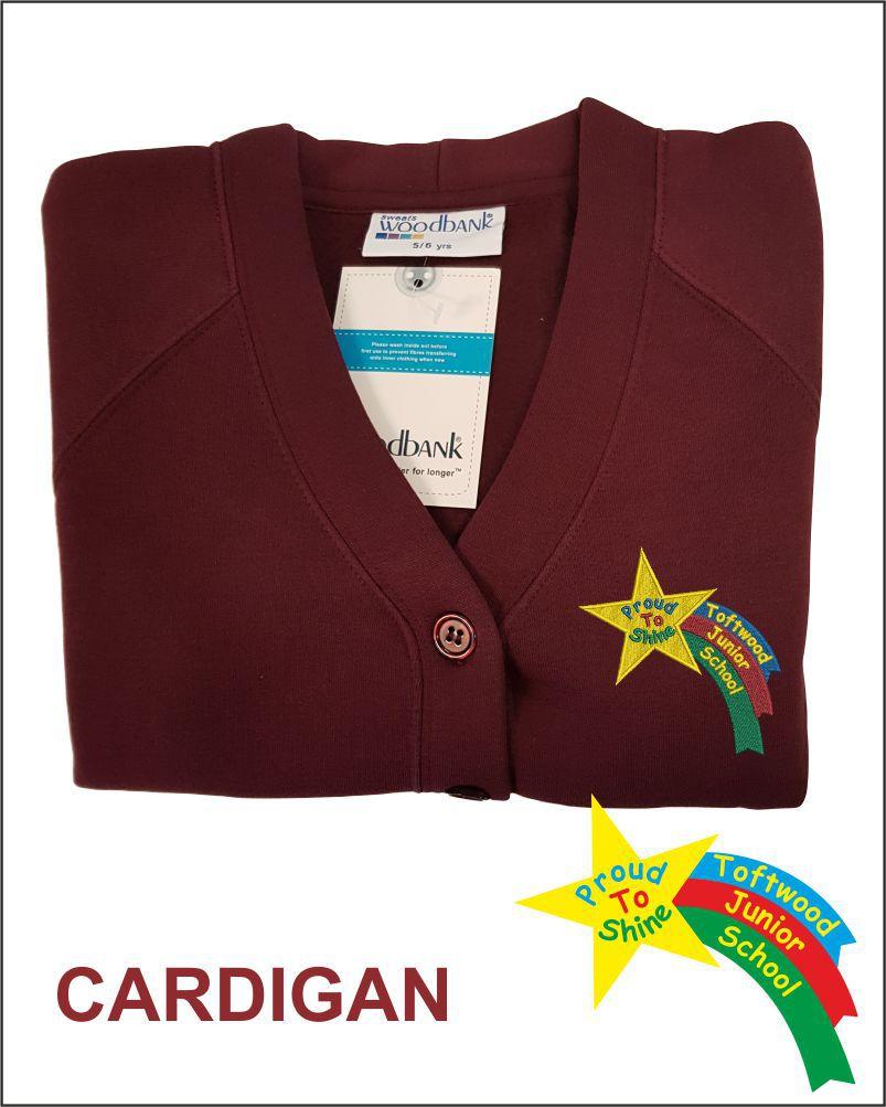 Totfwood Junior Uniform Cardigan