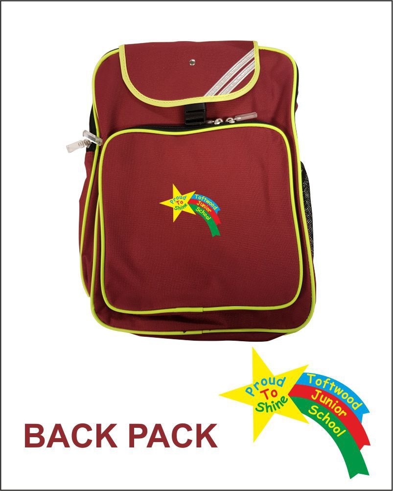 Totfwood Junior Uniform Back Pack