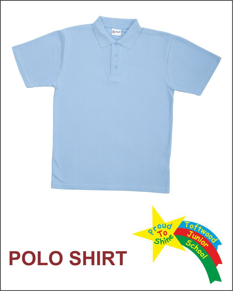 Totfwood Junior Uniform Plain Polo