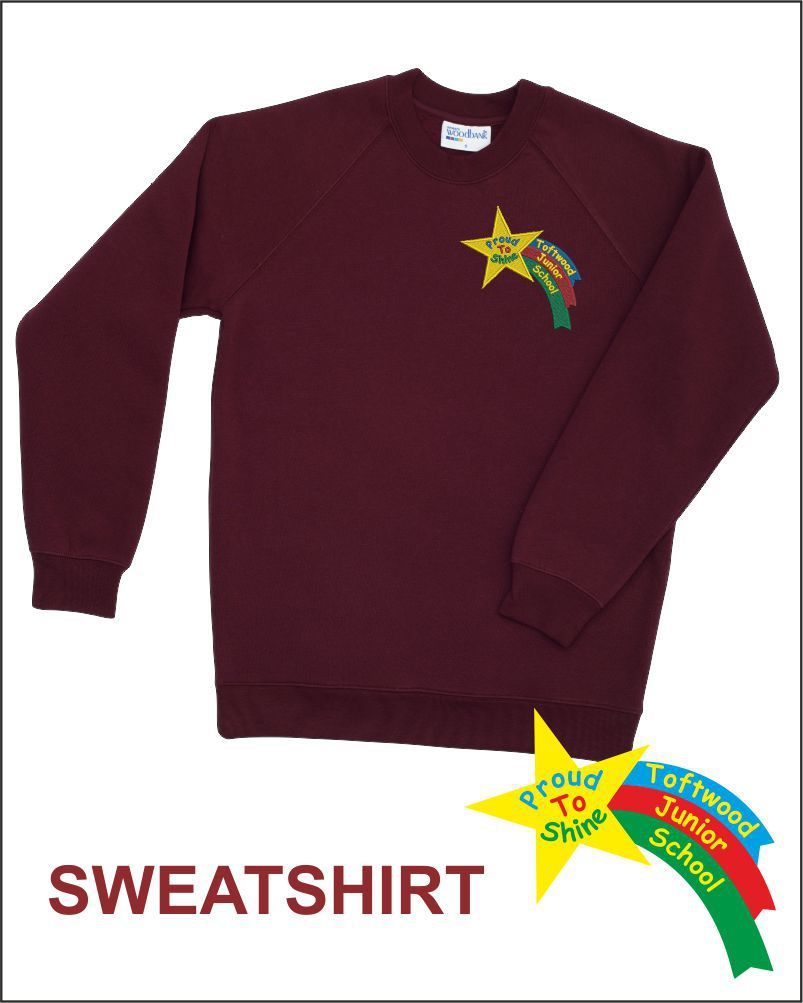 Totfwood Junior Uniform Sweatshirt