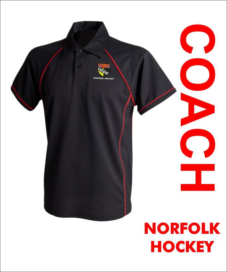 Norfolk Hockey Coach Polo