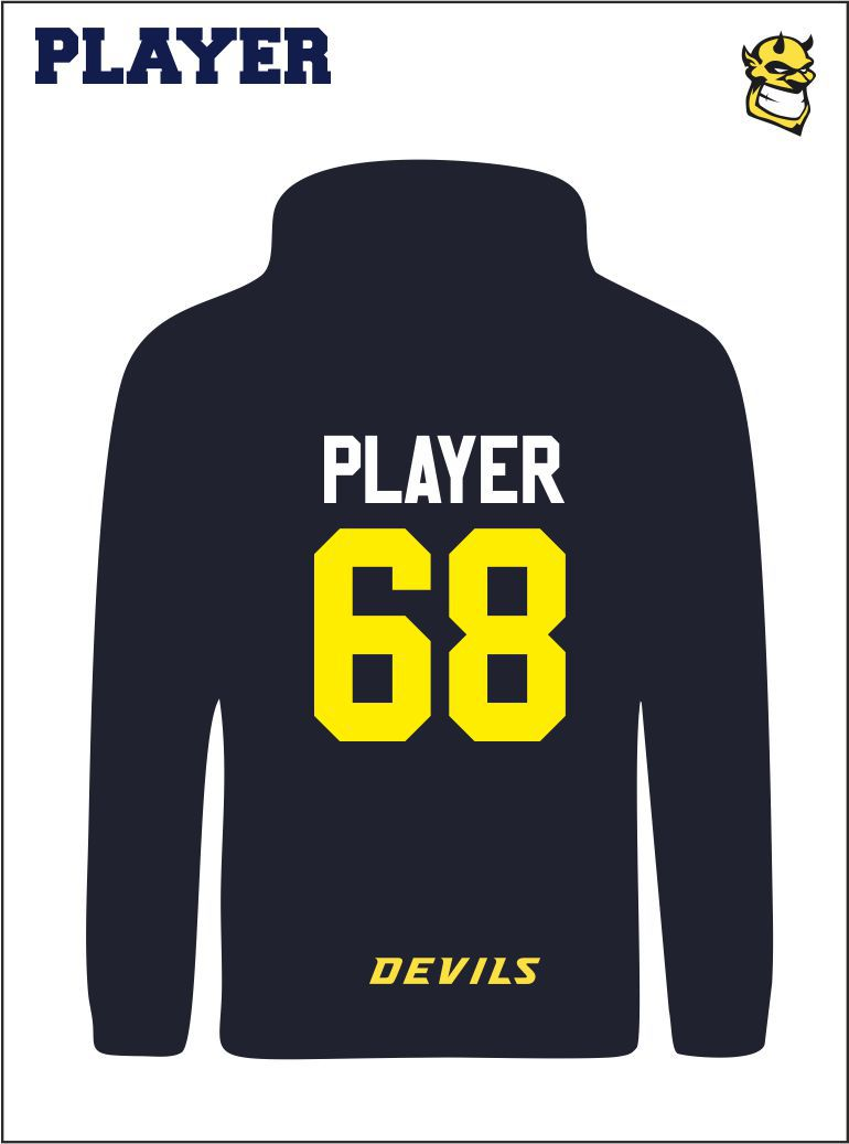 Player Hoody Back