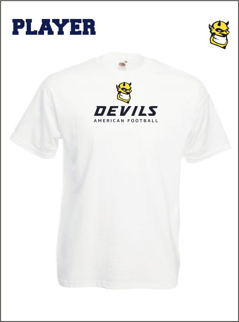 Player Tee Front White