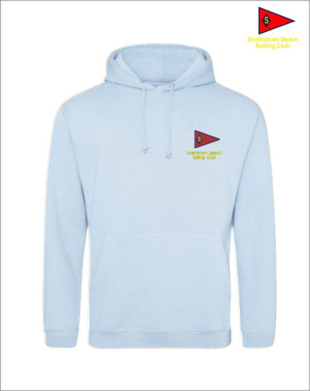 Snettisham Beach Sailing Club Cadet Week 19 Hoodie Front