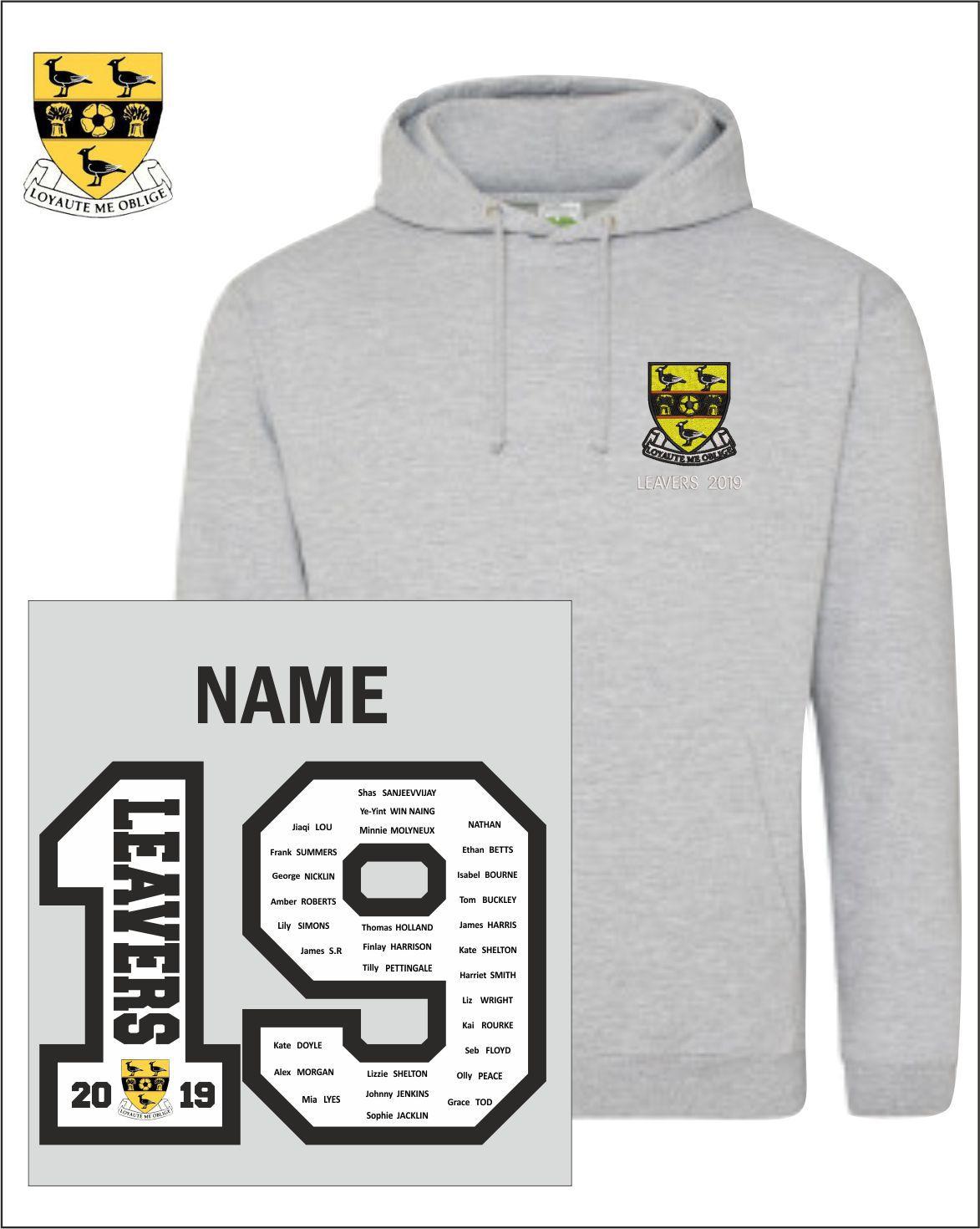 19 Sports Grey Hoody