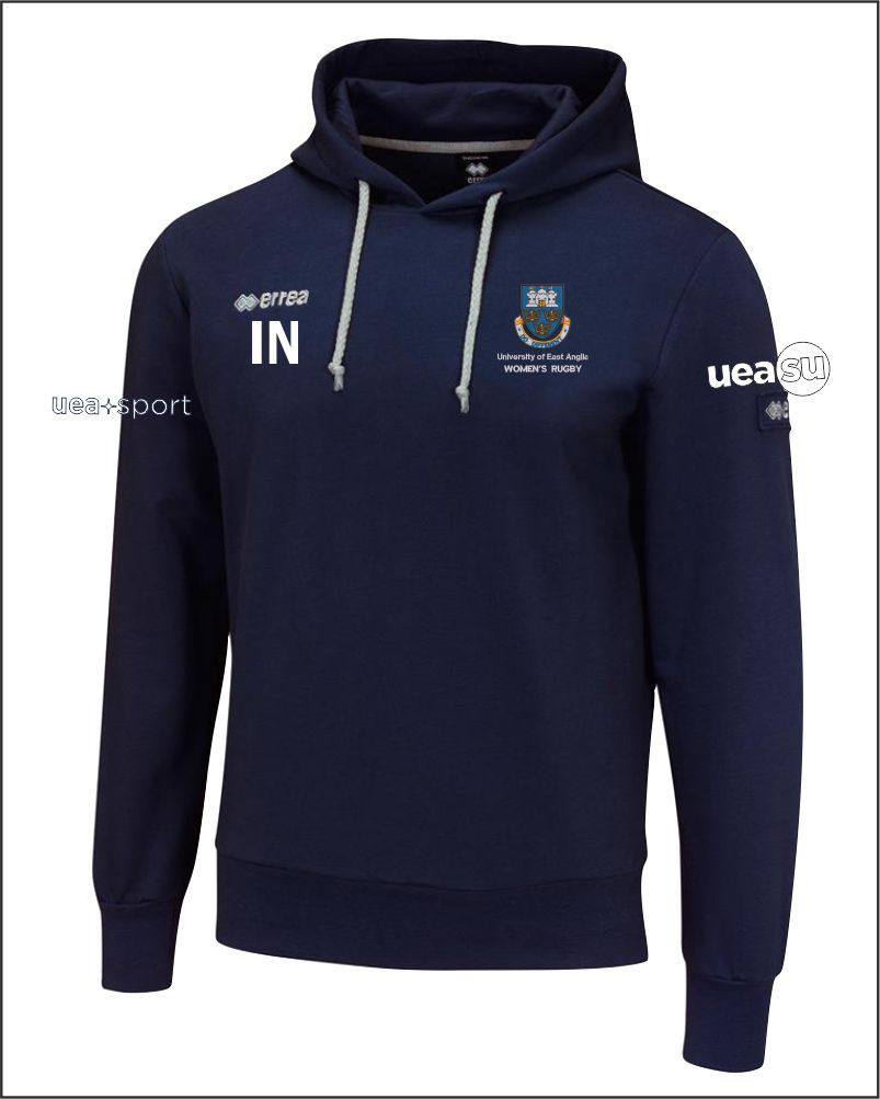 Womens Rugby Hoody Front