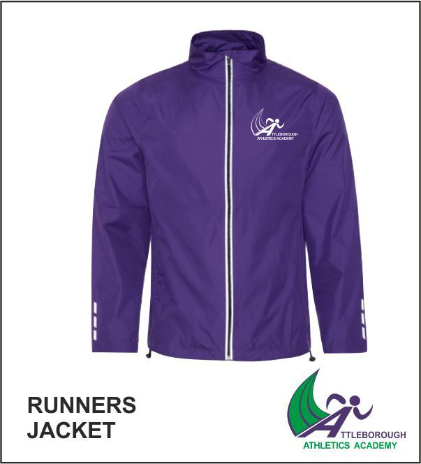 Runners Jacket Front