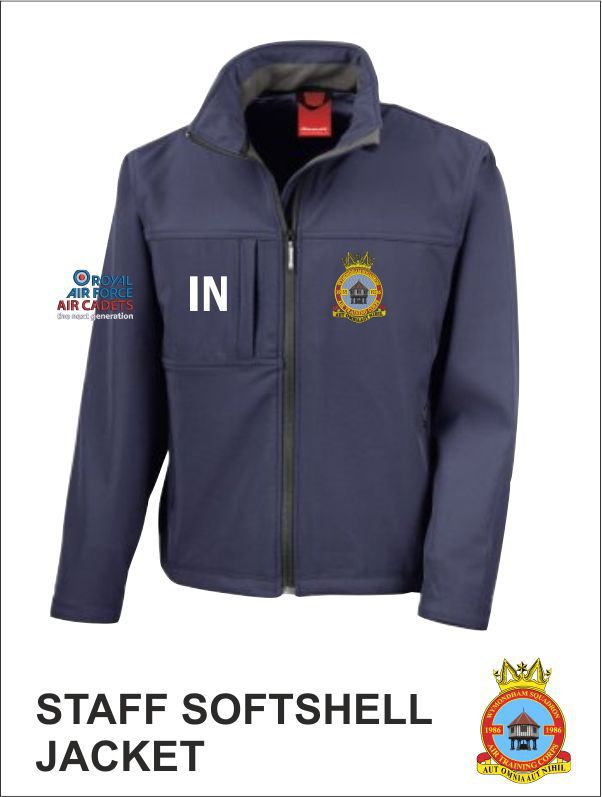 Softshell Navy Front