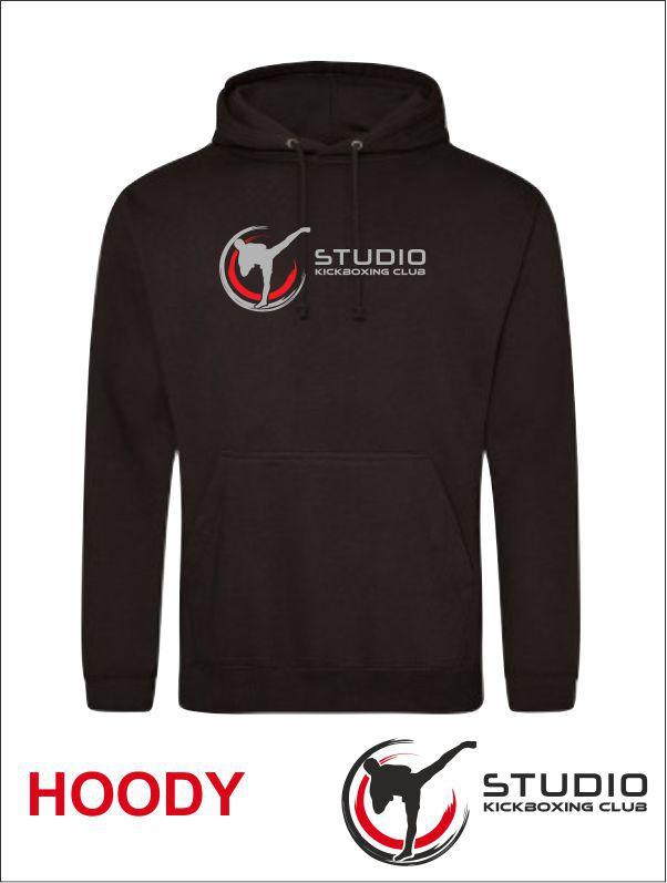 Hoody Studio Black Front