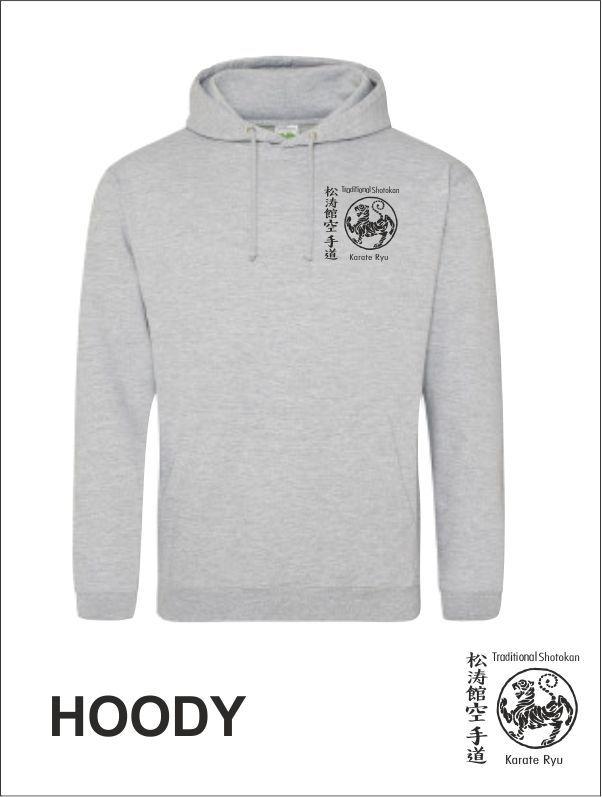 Hoody Grey Front Tskr