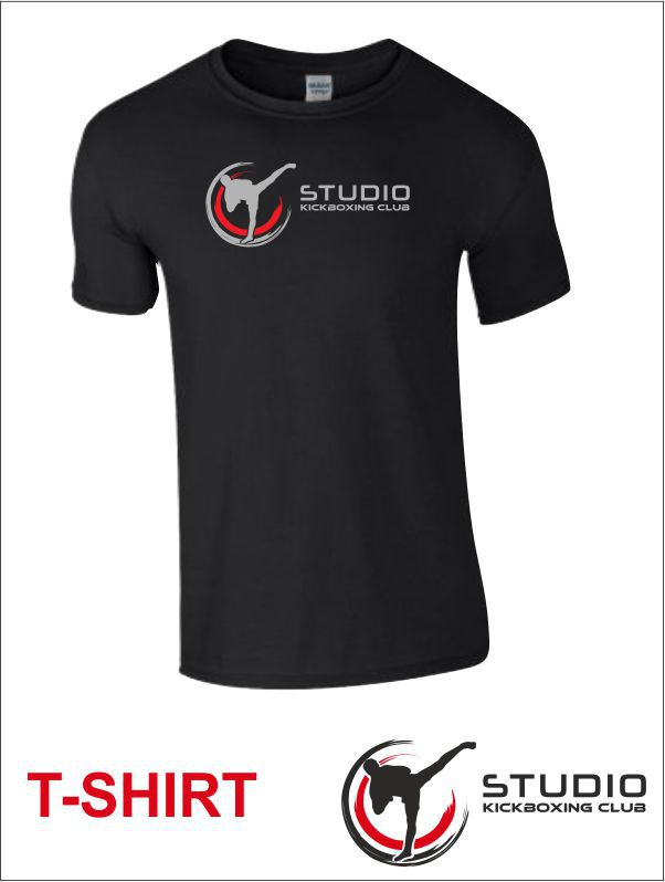 T Shirt Studio Balck Front
