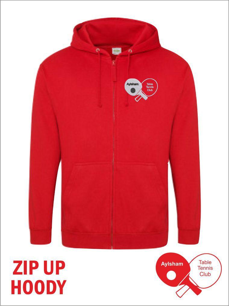 Zip Up Hoody Front